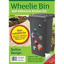 Wheelie bin stickers - Balloons by MONOGRAM Classic Signs