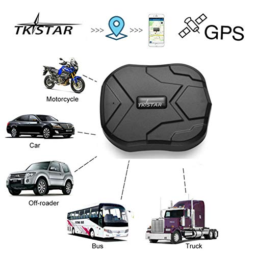 dwide ,Vehicle Realitme Tracking Waterproof Portable Magnetic Tracking Device 90 Days Long Standby,onPoint Free Tracking &Monitoring System TK905 ()