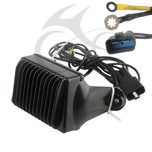 TCMT Motorcycle Voltage Regulator Rectifier For Replaces Harley-DAVIDSON Touring NO.74505-97 NO.7450597