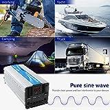 GIANDEL 4000W Heavy Duty Pure Sine Wave Power