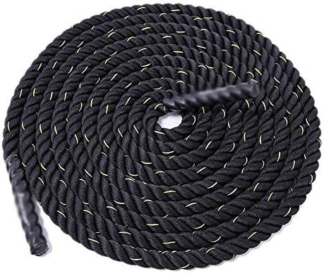 Chencheng フィジカルトレーニング太いロープ戦闘訓練ロープクライミングロープアームロープ スポーツアウトドア (Size : 15m)