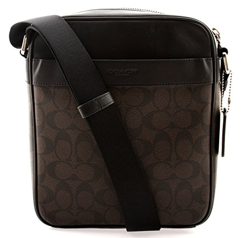 Coach Flight Bag in Signature (Mahogany/Brown) - F54788 - Mall Ma In