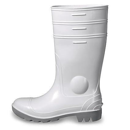 Uvex Nora Botas de seguridad 9476.6 S5 SRC Blanco de PVC Suela