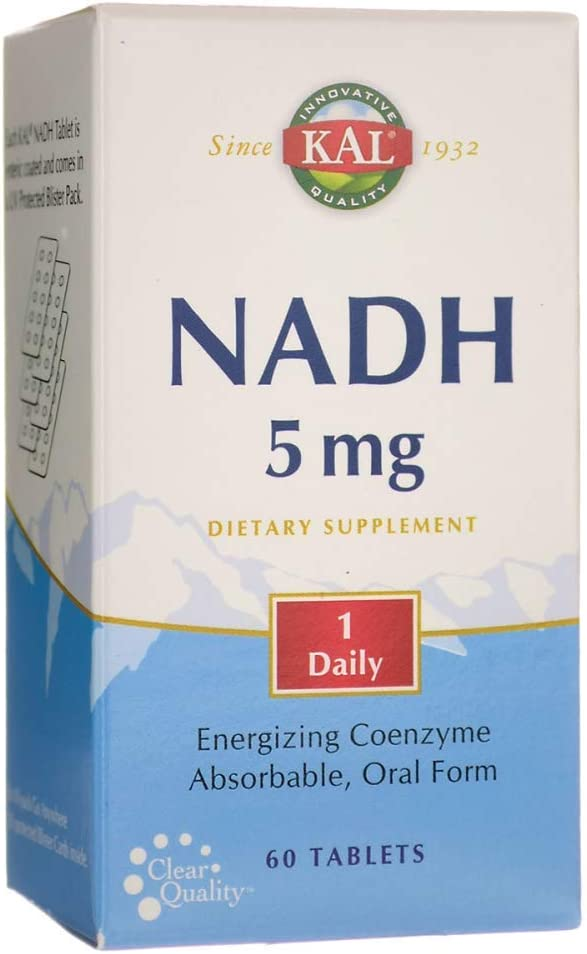 KAL 5 Mg Nadh Tablets, 60 Count