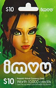 Imvu $10 Game Card: Video Games - Amazon com