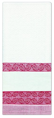 Design Works Crafts Counted Cross Stitch Leaves Towel, 18 by 28