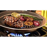 Premium Healthy Doctor Recommended Indoor Stove top Smokeless Stainless Steel BBQ Grill Kitchen Barbecue