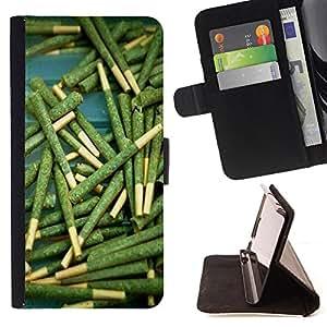 - Weed weed hipter quote Marijuana Kush Weed / Personalizada del estilo del dise???¡Ào de la PU Caso de encargo del cuero del tir????n del soporte d - Cao - For Samsung Galaxy S5 V SM-G900