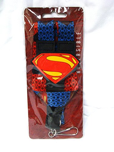 2013 Lanyard - Superman Lanyard Logo Man of Steel Movie 2013 Dc Comics Id Holder Badge Key Neck