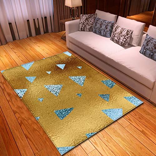 Sabull Nordic Geometric Living Room Area Rugs Soft Printed Carpets Yoga Fitness Floor Mats Creative Hallway Carpet (Room Tables Dining Calgary)