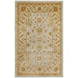 Safavieh Austin Collection AUS1620-7920 Traditional Oriental Light Grey and Gold Area Rug (2'6″ x 4′)