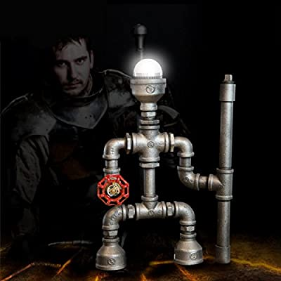 China Palaeowind Creative Retro Water Warrior Robotic Lamp Decoration Decoration