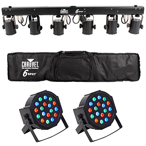 Chauvet 6Spot Led Color Changer Lighting System in US - 2