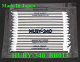 Yoton 100 Pack (25 pc/pack) Original huby 340 BB-013 Cleanroom Paper Handle Cotton Swab Stick for Printer PRINTHEAD CLEANING