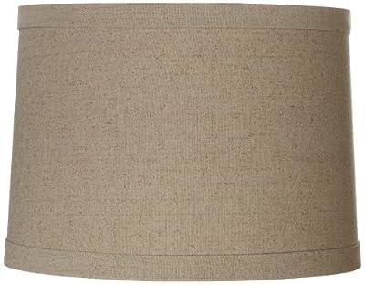 Springcrest Natural Linen Drum Shade 13x14x10 (Spider)