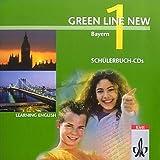 Green Line New - Ausgabe Bayern. Englisches Unterrichtswerk für Gymnasien / Teil 1 (1. Lehrjahr): Begleit-CD zum Schülerbuch