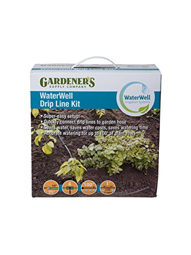 WaterWell Garden Watering and Irrigation System Drip Line Kit