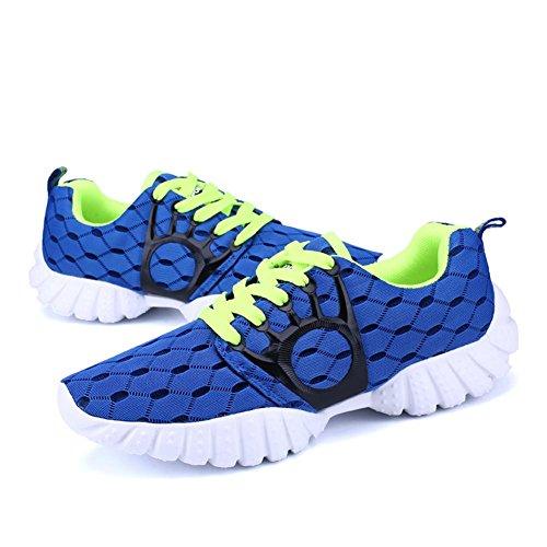 Scarpe da uomo scarpe da uomo scarpe da passeggio scarpe da sci Sneaker scarpe da passeggio scarpe da sci , deep blue , 43
