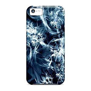 Faddish Phone Black And Blue Case For Iphone 5c / Perfect Case Cover