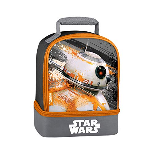 Disney Star Wars Episode 7 BB8 Dual Compartment Insulated Lunch Box ()