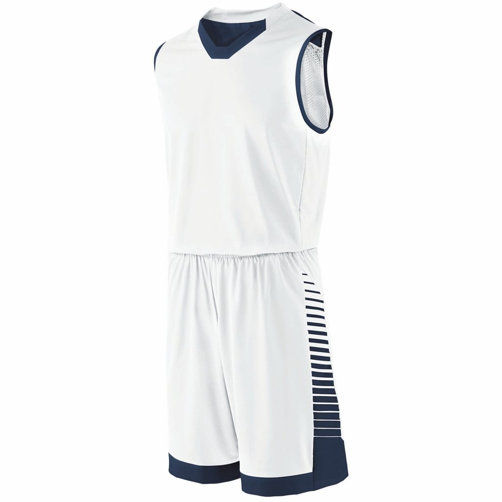Holloway Youth Arc Short (X-Large, White/Navy) by Holloway
