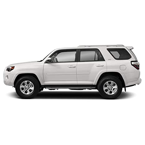 3R3 BARCELONA RED Dawn Enterprises FE2-4RUN Finished End Body Side Molding Compatible with Toyota 4Runner