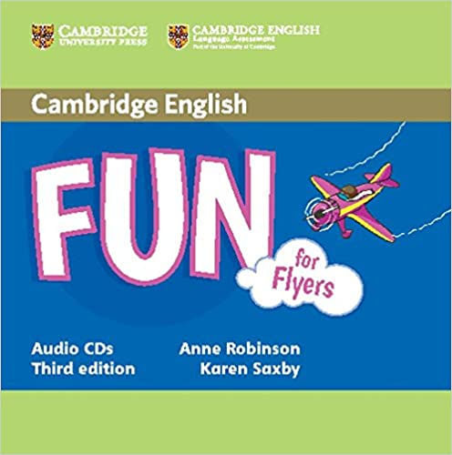 Amazon fun for flyers audio cds 2 fun for starters movers fun for flyers audio cds 2 fun for starters movers and flyers 3rd edition fandeluxe Choice Image