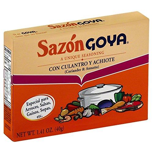 Goya Sazon Culantro/Achiote 8.0 PC(Pack of 2) ()