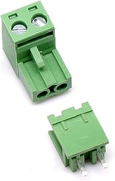 PCB 100 Pack Green Terminal