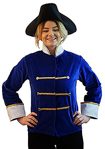 Stage-Pantomime-Fancy Dress-World Book Day-Cinderella PRINCE CHARMING JACKET ONLY - Age 3-4 years - Medium Adult