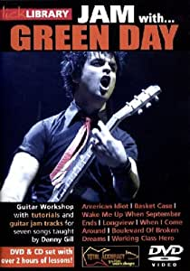 Lick Library: Jam With Green Day [Reino Unido] [DVD]