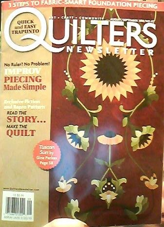 Quilters Newsletter (August/September 2010, No. 417)