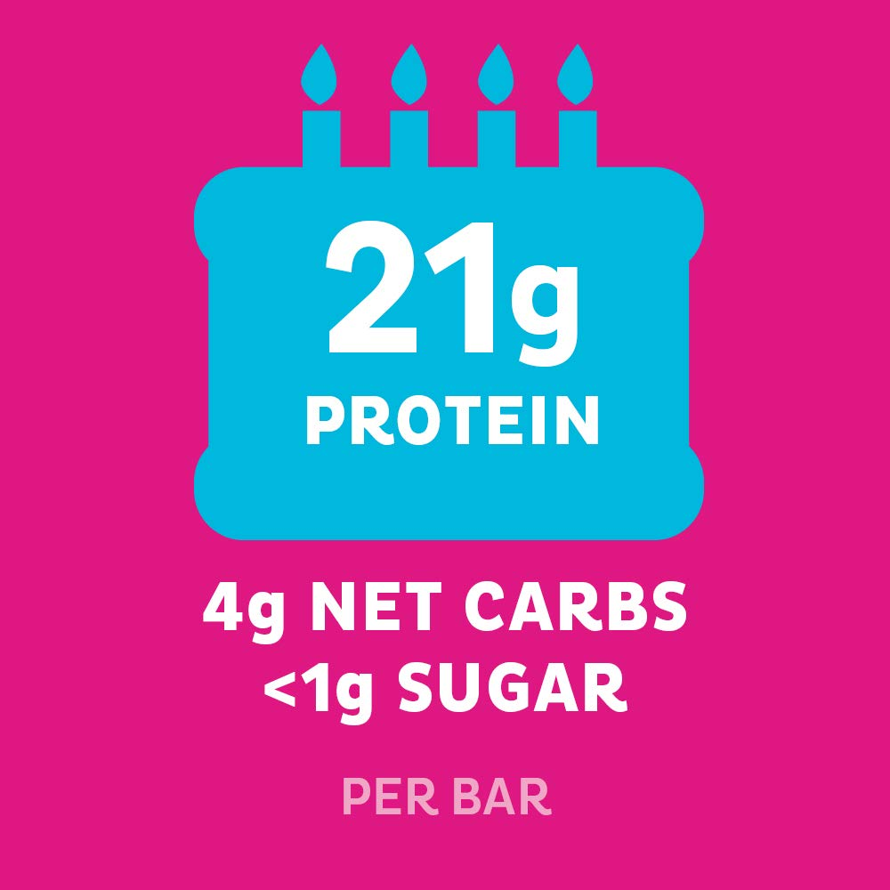 Quest Nutrition Birthday Cake Protein Bar High Protein Low Carb
