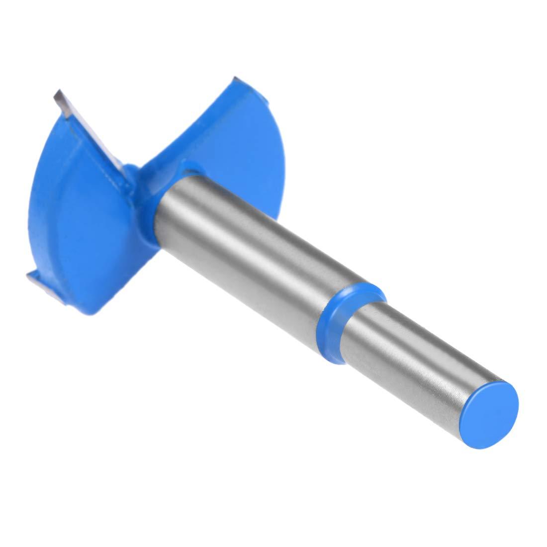 8mm Shank uxcell 25mm Carbide Hinge Boring Forstner Drill Bit
