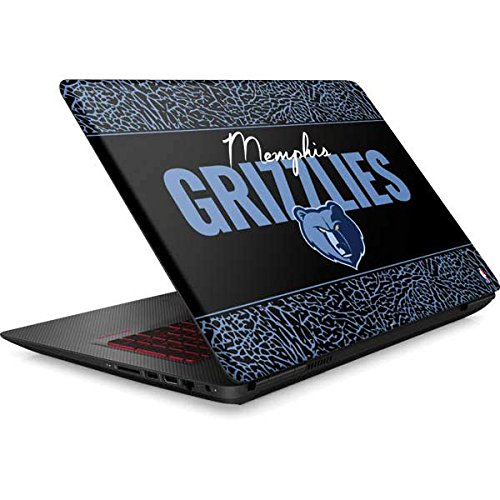 Skinit NBA Memphis Grizzlies Omen 15in Skin - Memphis Grizzlies Elephant Print Design - Ultra Thin, Lightweight Vinyl Decal Protection by Skinit