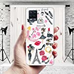 CASEARTIST Realme 8 Pro Cover – Moda fondos de pantalla Fashion Girl Designer Printed Slim Back Case Cover for Realme 8…