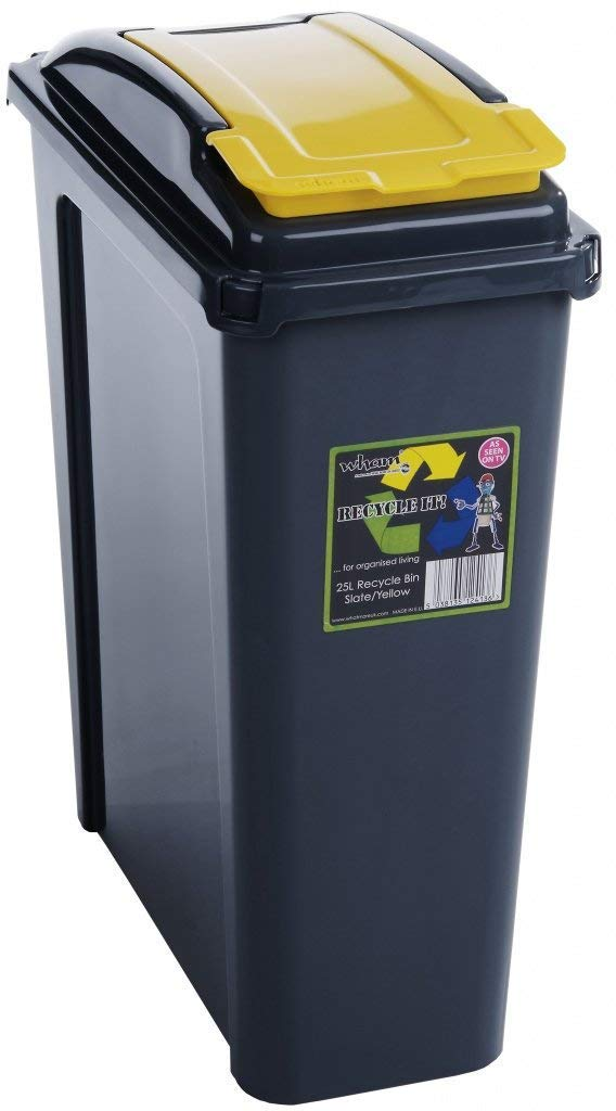 Wham Recycling Bin 25 L gelb (300138)
