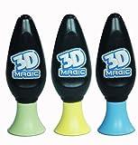 3D Magic - 3 Stylos Gel 3D - Recharge 3 Couleurs - Modèle Aléatoire