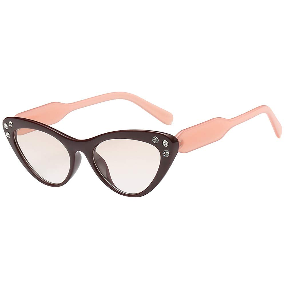 COGIGI Women Man Fashion Vintage Irregular Shape Sunglasses Eyewear Retro Unisex