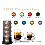 Nespresso Vertuoline Coffee & Espresso (Vertuoline Welcome Set, Coffee 180 Capsules)