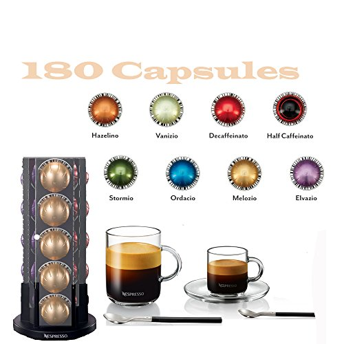 Nespresso Vertuoline Coffee & Espresso (Vertuoline Welcome Set, Coffee 180 Capsules)