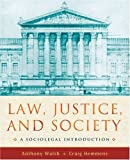 Law, Justice, and Society: A Sociolegal Introduction by Anthony Walsh (2008-01-30)
