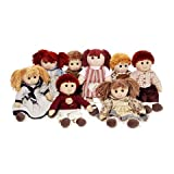 Better Crafts COUNTRY DOLLS DRESSED 13.75IN 12BOYS 24GIRLS (36 pack) (02635-110)