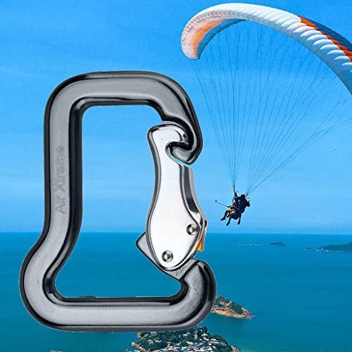 Little Story  Screw Lock, Outdoor Rock Climbing Master Hook Paraglider Parachute Clip Locking ()