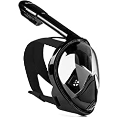 Diving has never been so comfortable DIVELUX snorkeling gear must be in your holiday packing list and here's why. The full face snorkel mask allows you to enjoy the panorama of the undersea world with a 180° view. The snorkel mask is made of ...