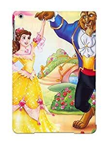 Fashionable Style Case Cover Skin Series For Ipad Air- Beauty And The Beast