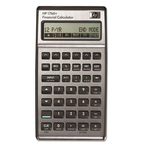 HEW17BIIPLUS - 17bII Financial Calculator by HP