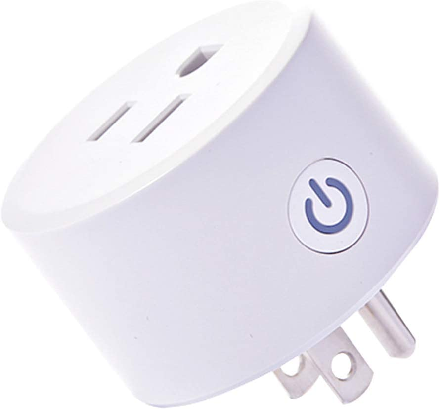 Zigbee Smart Plugs Outlet Works with SmartThings and Amazon Echo Plus Hub Voice Control Compatible with Alexa and the Google Assistant (Hub Required)