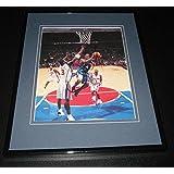 Signed Stephon Marbury Photo - Framed 8x10 Georgia Tech Timberwolves GT - Autographed NBA Photos
