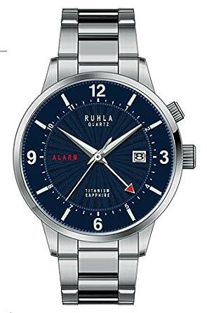 Garde' Ruhla Uhren aus Ruhla Alarm Herrenuhr 34805 mit Saphirglas
